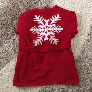 Victoria's Secret Snowflake Robe